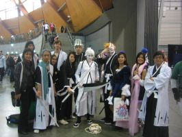 BLEACH COSPLAY GROUP!!!! by XTerraDiabolusX