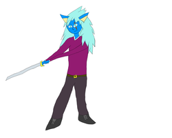 Wonky Sword D: by GlitchDoodles