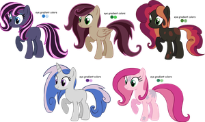 Draw to adopt and point pony adoptables CLOSED by AdolfWolfed4Life