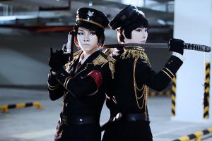 Army Hetalia: China Japan by mellysa