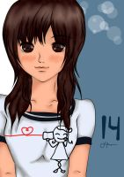 anime girl my own character : cute couple t-shirt by nhiezeil