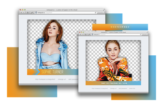 Pack Png 874 // Sophie Turner. by ExoticPngs