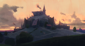 Hillock sketch + Process video by JeremyPaillotin