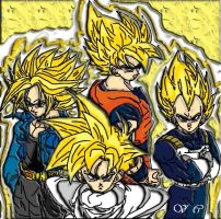 Dragon Ball Z: Super Sayan by celesten