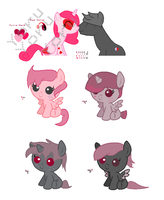 MLP Breedable Babies - Milda x Bruno CLOSED by kitty910