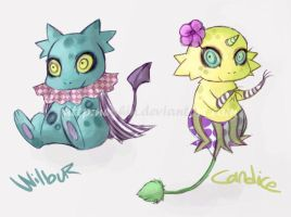 Two little critters by neohin