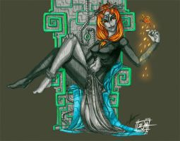Thinking of You - Midna by JoyMason