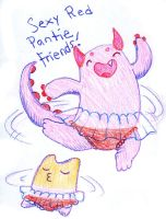 Panty Friends for Life by Pumpkin-Queen-Ildi