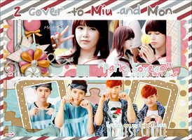Pack cover from me to Miu and Mon by SeroDuong