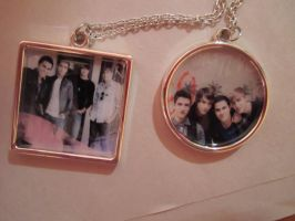 My BTR Necklaces by WolfArt-Rusher