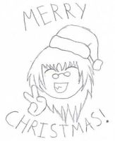 Merry Christmas 2009 by Pyro-Vampire