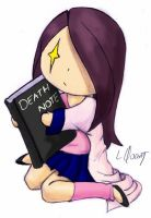 Death note me :D by LiliQuant