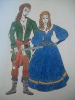 Pirate Captain and his Wife II by xitsveronikiox