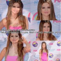 PACK fotos de selena en los Teen Choice Awards by fersellylover11