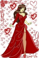 Ruby Gown by MzMegs