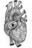 One-Eyed-Heart by MelissaDalton