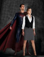 Superman and Lois Lane by JosephCAW