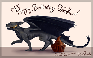 Birthday's gift for Toother by Virllanda
