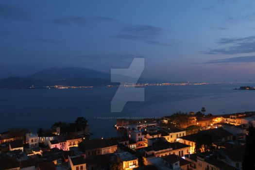 nafpaktos overview I by AndreasStavropoulos
