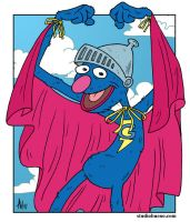 Super Grover by StudioBueno