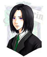 Young Snape by slvadrgn