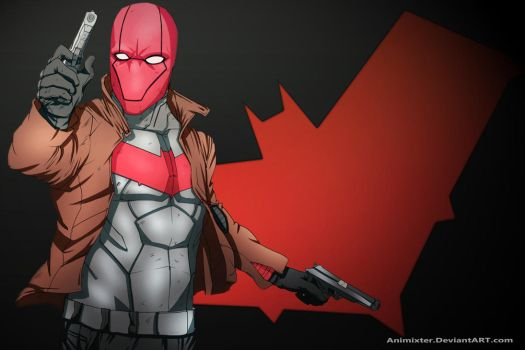 Red Hood Wallpaper by Animixter