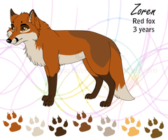 Zoren - ref sheet by Velvet-Loz