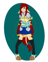Erza Captured 3 by Dragon-FangX