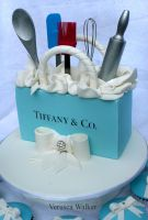 Tiffany Kitchen Tea Party Cake by Verusca