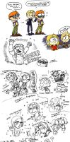 Resident Evil Sketch Dump 2 by Chicaaaaa