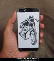 Papercut iphone Case I Handmade I Handcut by ParthKothekar