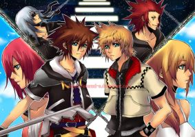 Kingdom Hearts II Our destiny by Eternal-S