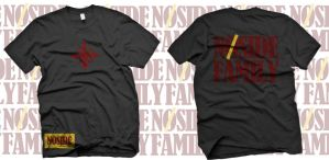 NOSIDE FAMILY t-shirt design by kancilbersayap