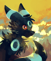 Ace Umbreon by yassui