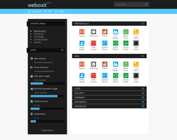 weboxIT - Control Panel by netcraft