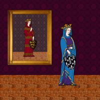 Isabella of England/France 1295-1358 by PrinceznaLuna