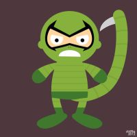 Almost Daily Characters: The Scorpion by striffle