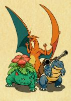 The Rulers of Kanto by WPgdea