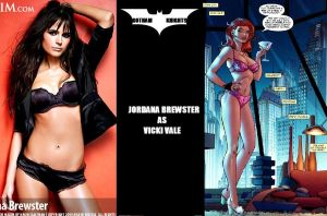 Gotham Knights T.V. Series Fan Cast - Vale V.1 by RobertTheComicWriter