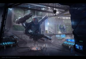 Robot`s laboratory by Azot2015