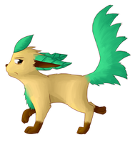 PMD-Explorers: Leafeon Lemon by MMTOdaril