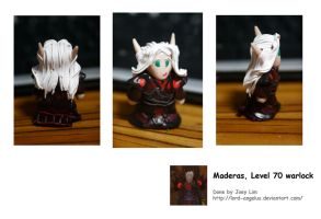 World of Warcraf polyClay: WL by LadyAngelus