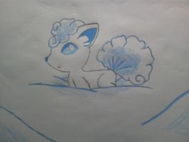KAWAII Pokemon: Alolan Vulpix! by KawaiiWonder
