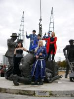 Fullmetal Alchemist group shot MCM Oct '12 by KaniKaniza