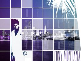 Tony Montana Scarface by krisenz