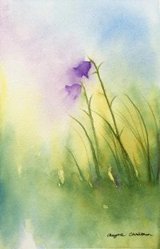 Harebells by PaintedFeatherz14