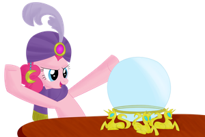 Madame Pie sees your birthday present by Dragonfoorm