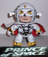 Prince of Space Mighty Mugg by Calcifer-Boheme
