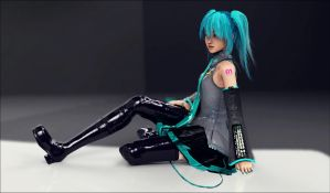Hatsune Miku - Studio Render by Kukla-Factory