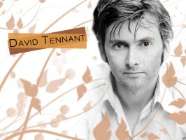 David Tennant Wallpaper by FairyWish23